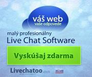 Zaregistrujte si zdarma Live Chat